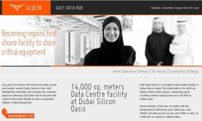 the gulf data hub facility managemente facility manager